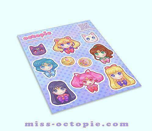 Sailor Moon Sticker Sheet
