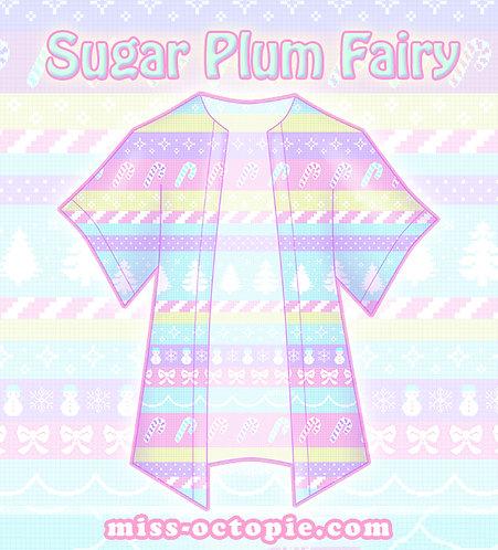 """""""Sugar Plum Fairy"""" Chiffon Kimono Peignoir"""