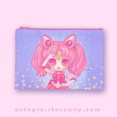 """""""Sailor Chibi Moon"""" Zipper Pouch"""