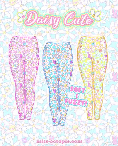 """""""Daisy Cute"""" Velvet Leggings"""