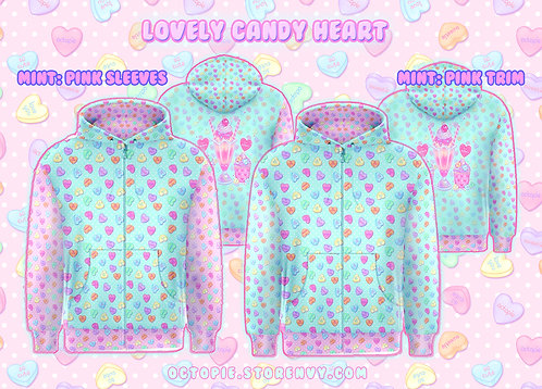 """""""Lovely Candy Heart"""" Hoodie"""