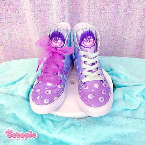 """Starry Eyes"" Hi-Top Shoes"