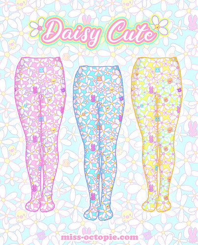 """Daisy Cute"" Tights or Leggings"