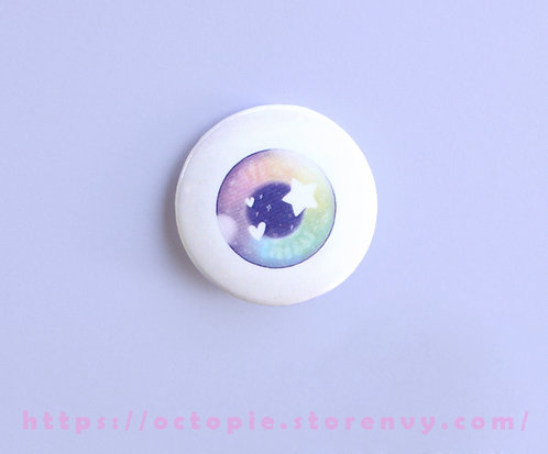 "Eyeball 1.5"" Button"