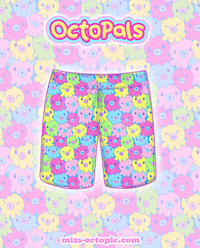"""OctoPals"" Shorts"
