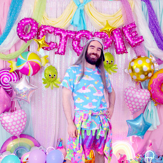 "💖 ""OctoPals"" Hoodie 💖 ""DreamyOcto"" T-Shirt 💖 ""Fashion Monster"" Drippy Shorts"