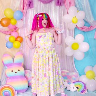 "🌸 Yellow ""Daisy Cute"" Sleeveless Cinched Maxi Dress"