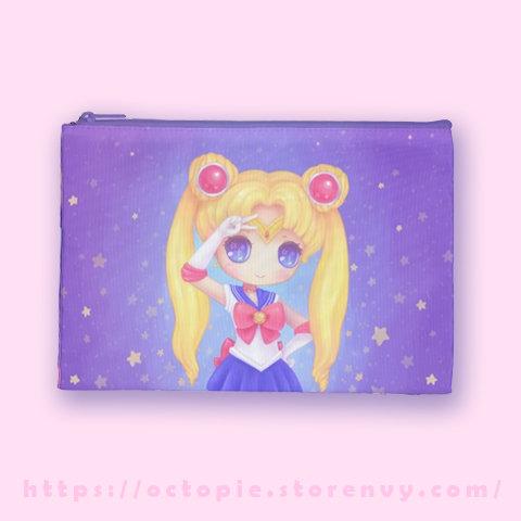 """""""Sailor Moon"""" Zipper Pouch"""