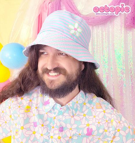 """""""Daisy Cute"""" Double-Sided Bucket Hat"""