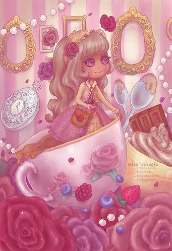 """Classic Lolita Adventure"" Art Print"