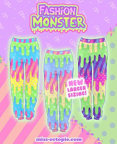 """Fashion Monster"" Drippy Jogger Sweatpants"