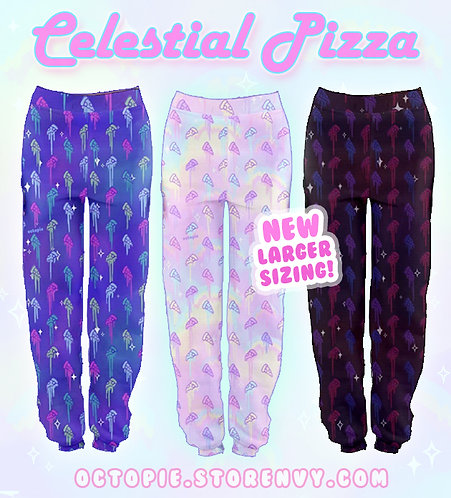"""Celestial Pizza"" Jogger Sweatpants"