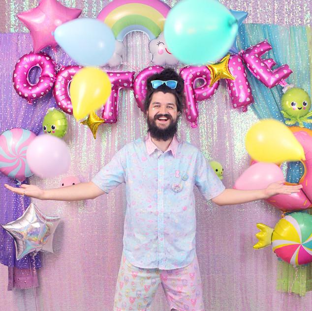 "💙top: NEW Blue ""AlpacaCorn Fluff"" Button-up Shirt 💙bottom: Mix ""IceCreamy Bearcone"" shorts"
