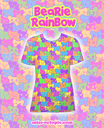 """Bearie Rainbow"" T-Shirt"