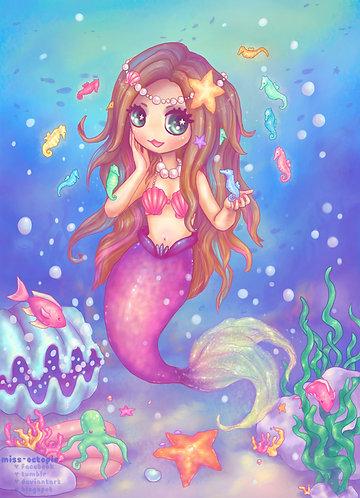 """Ocean Friends"" Art Print"