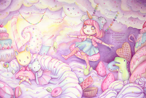 """Sweet Whimsy"" Art Print"