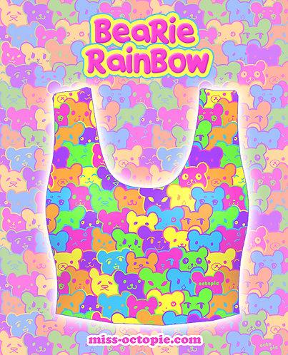 """Bearie Rainbow"" Crop Tank Top"