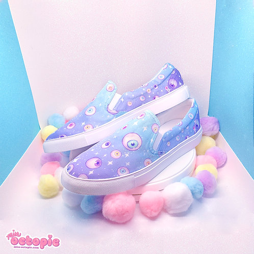 """""""Starry Eyes"""" Slip-on Shoes"""