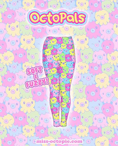 """""""OctoPals"""" Velvet Leggings"""