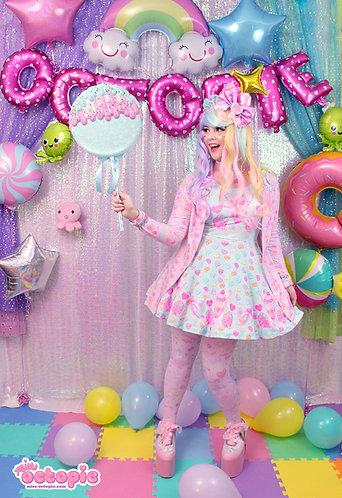 """""""Lovely Candy Heart"""" Sleeveless Skater Dress"""