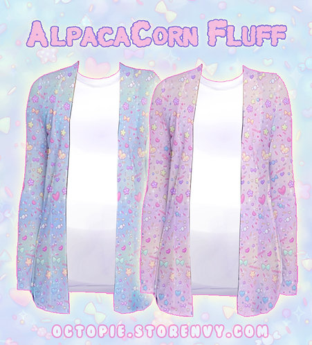 """AlpacaCorn Fluff"" Cardigan"