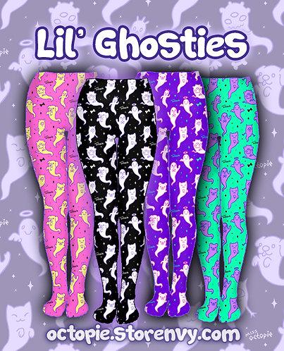"""""""Lil' Ghosties"""" Tights or Leggings"""