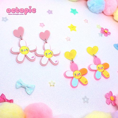 Daisy Cute Dangle Earrings