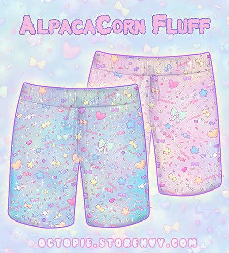 """AlpacaCorn Fluff"" Shorts"
