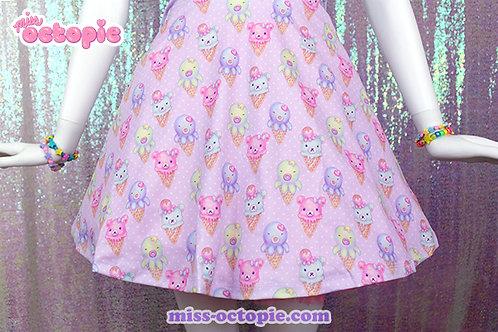 """IceCreamy Bearcones"" Skirt"