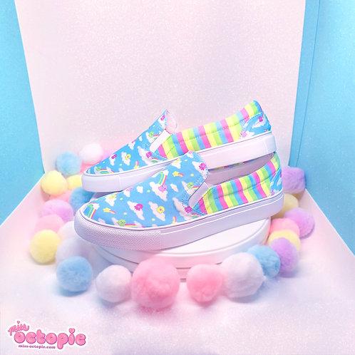 """""""DreamyOcto"""" Slip-on Shoes"""
