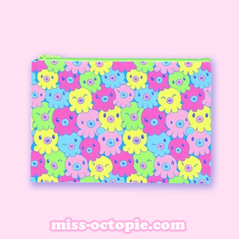 """OctoPals"" Zipper Pouch"