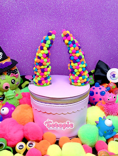 Neon Dots Horns (3 sizes)