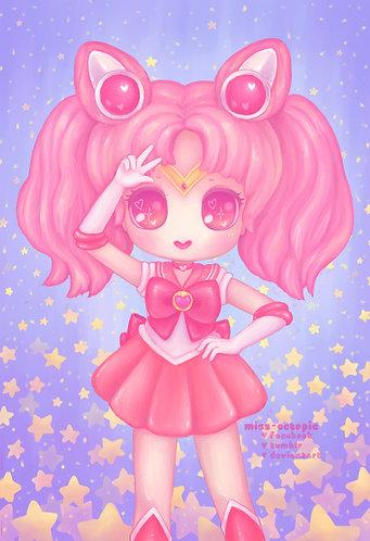 """Sailor Chibi Moon"" Art Print"