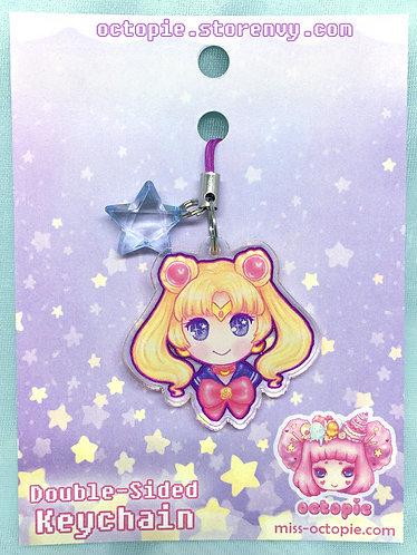 """""""Sailor Moon"""" Keychain/Cell Phone/DS Charm"""