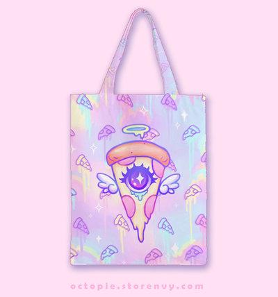 """Celestial Pizza"" Classic Tote Bag"