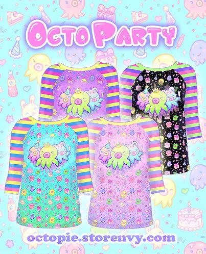 """""""OctoParty"""" Raglan Shirt"""