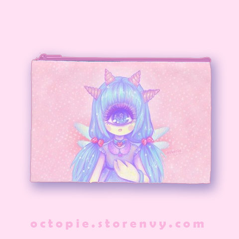 """Pastel-Fairy"" Zipper Pouch"