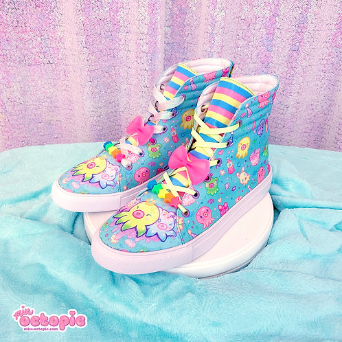 """""""OctoParty"""" Hi-Top Shoes"""