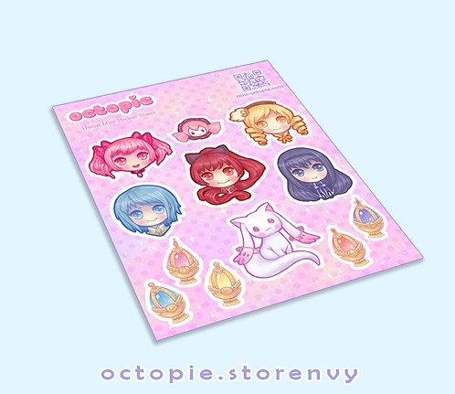 Madoka Magica Sticker Sheet