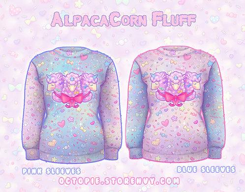 """AlpacaCorn Fluff"" Sweater"