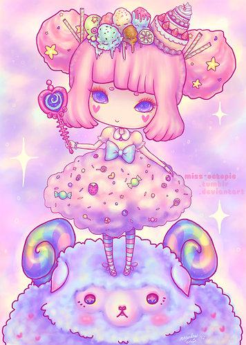 """""""Sweetie Kei"""" Art Print"""