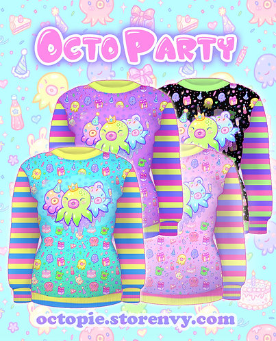 """""""OctoParty"""" Sweater"""