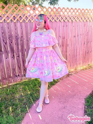 """""""OctoParty"""" Frilly Strap Dress"""