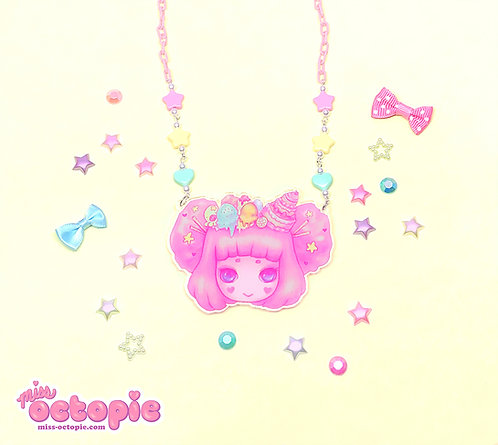 """Miss Octopie"" Large Necklace"