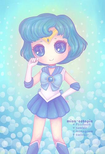 """Sailor Mercury"" Art Print"