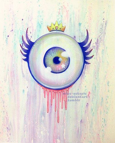 """""""EyeLash"""" Art Print"""