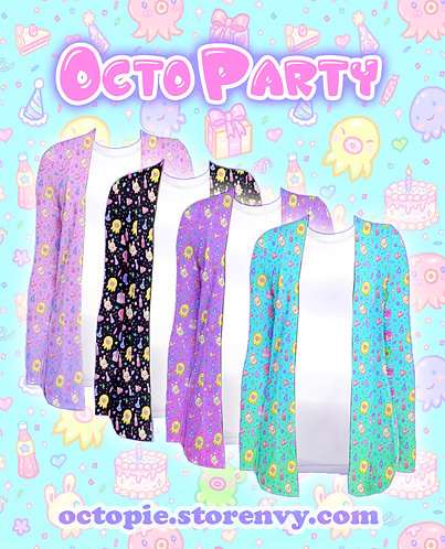 """OctoParty"" Cardigan"