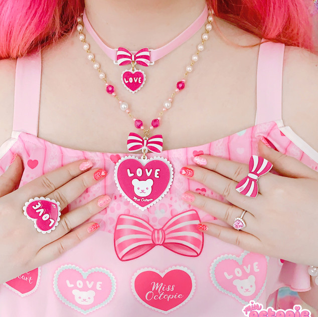 Lacy Heart jewelry