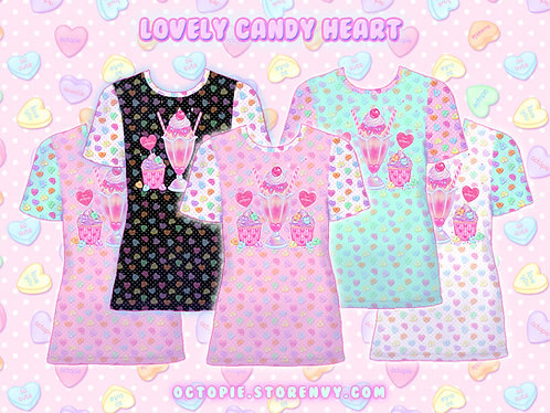 """Lovely Candy Heart"" T-Shirt"