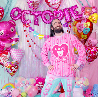 "💖 Pink ""Lacy Heart"" Sweater 💖 Mint ""Lacy Heart"" Sweatpants"